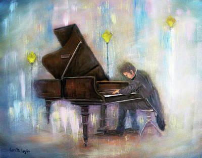 Painting - Night Music by Loretta Luglio