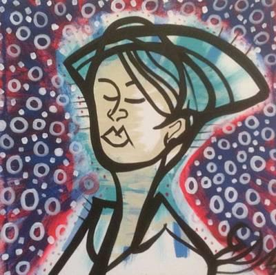 Painting - Night Nurse by Geoffrey Doig-Marx