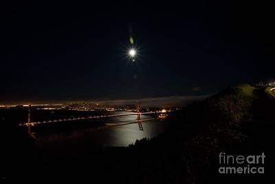 Photograph - Night Of A Supermoon by David Bearden