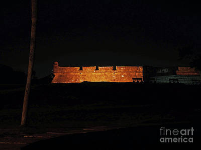 Photograph - Night Of Lights At The Castillo by D Hackett
