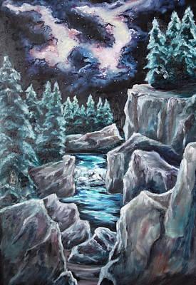 Painting - Night Of Stars by Cheryl Pettigrew