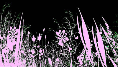 Night Of The Flowers Art Print by Evelyn Patrick