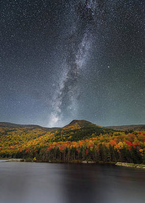 Photograph - Night On Beaver Pond by Michael Blanchette