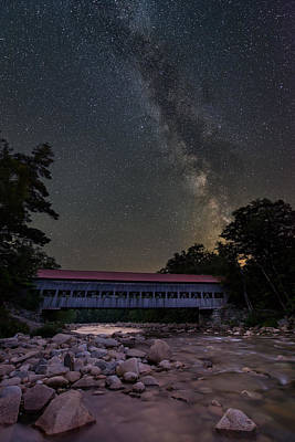 Photograph - Night On The Swift River by Michael Blanchette
