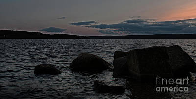 Photograph - Night On Winnisquam by Mim White