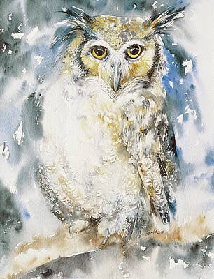 Painting - Night Owl by Arti Chauhan