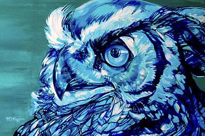 Night Owl Original by Derrick Higgins
