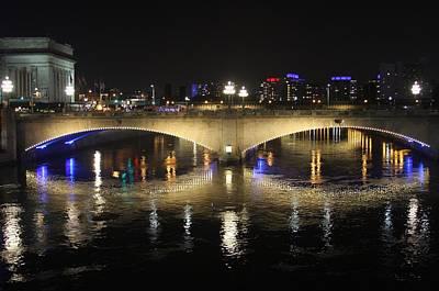 Photograph - Night Philadelphia by Vadim Levin