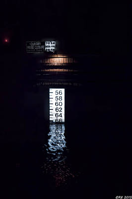 Photograph - Night Piling by Richard Bean