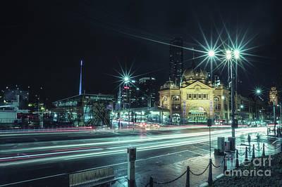 Photograph - Night Ride by Evelina Kremsdorf