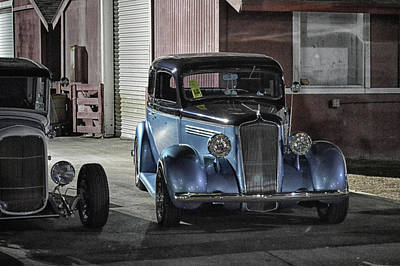 Photograph - Night Rods At Cure by Bill Dutting