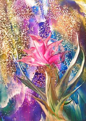 Night Rose Art Print by John Vandebrooke