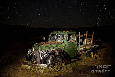 Photograph - Night Run by Charles Garcia
