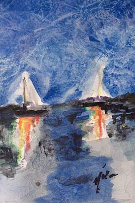 Night Sail  Art Print