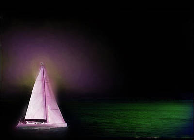 Painting - Night Sailing by Michael Cleere