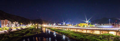 South Korea Photograph - Night Scape From South Korea by Hyuntae Kim