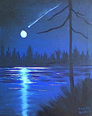 Painting - Night Scene by Brenda Bonfield