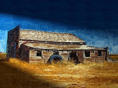 Art Print featuring the photograph Night Shift by Susan Kinney