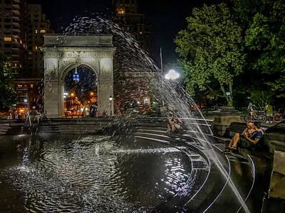 Photograph - Night Shower by Jeffrey Friedkin