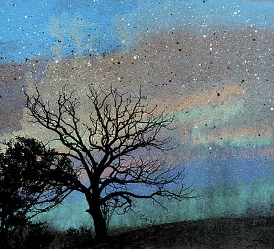 Painting - Night Silhouette by R Kyllo