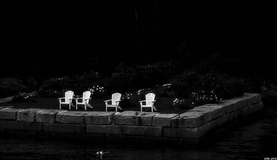 Photograph - Night Sitting by Richard Bean