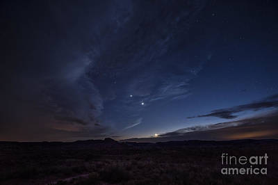 Photograph - Night Skies And Weather by Melany Sarafis
