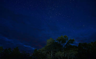 Photograph - Night Sky 5175 by Michael Peychich