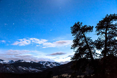Photograph - Night Sky And Continental Divide by James BO Insogna