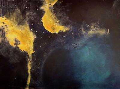 Wall Art - Painting - Night Sky by Jeanne Byron