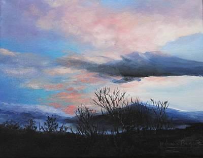 Night Sky Art Print by M Diane Bonaparte