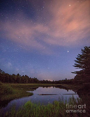 Photograph - Night Sky Over Maine by Martin Konopacki
