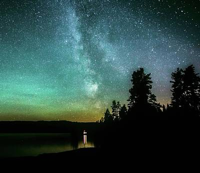Photograph - Night Sky by Rose-Marie Karlsen