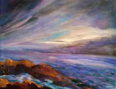 Painting - Night Sky by Rosie Sherman