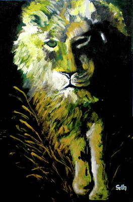 Painting - Night Stalker by Seth Weaver