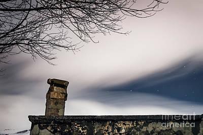 Photograph - Night Starry Sky by Anna Om