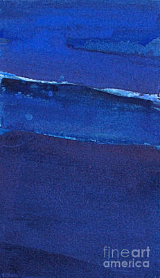 Painting - Night Surf by Diane Ursin
