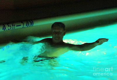 Photograph - Night Swim 3 by Randall Weidner