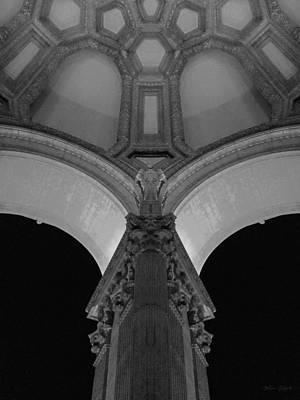 Bay Area Digital Art - Night Time At In San Francisco by Mia DeBolt