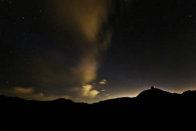 Photograph - Night Time At Palo Duro Canyon State Park - Texas by Ryan Crouse
