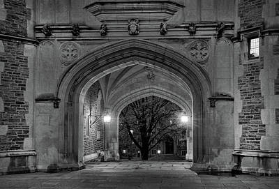Photograph - Night Time At Princeton University by Dave Mills
