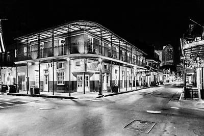 Photograph - Night Time In The City Of New Orleans I by Tony Reddington