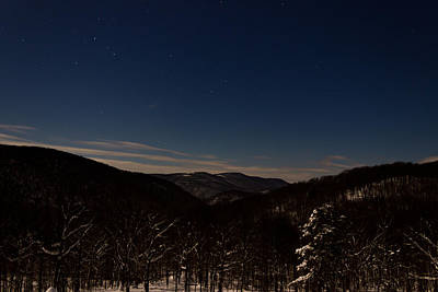 Photograph - Night Time In The Mountains by Jonny D