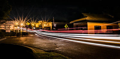 Photograph - Night Time Rush by Parker Cunningham