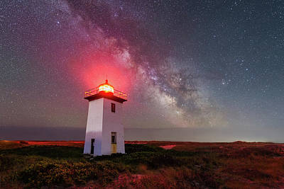Photograph - Night Tower by Michael Blanchette