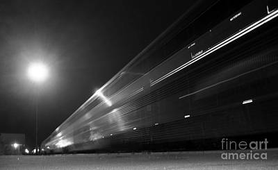 Photograph - Night Train by James B Toy