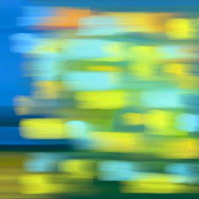 Painting - Night Train Journey by Frank Tschakert
