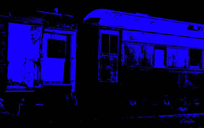 Photograph - Night Train by Nathan Little
