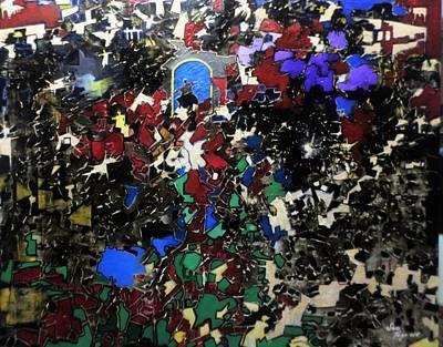 Painting - Night Upheaval by Adalardo Nunciato  Santiago