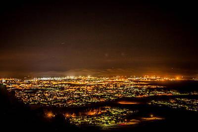 Suburban Photograph - Night View by Hyuntae Kim