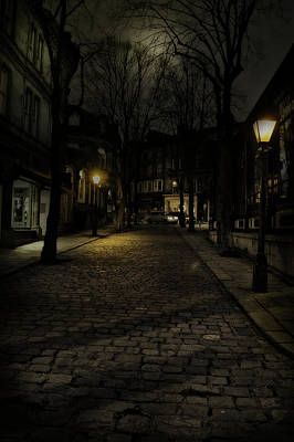 Caravaggio - Night vision by Mark Hunter